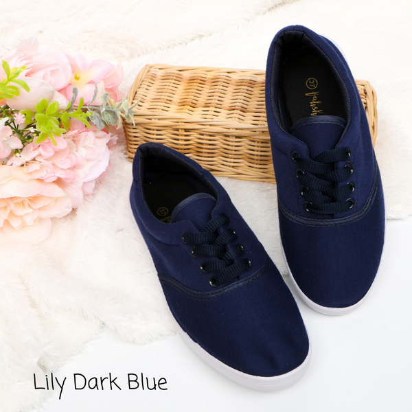 Lily Dark Blue Sneakers