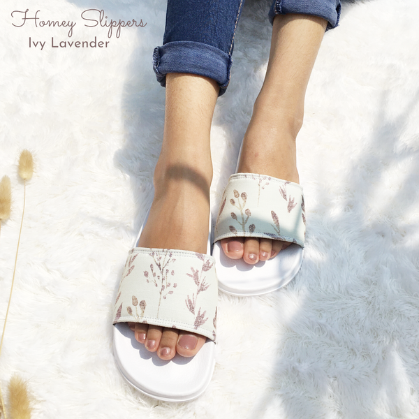 Homey Slippers - Ivy Lavender