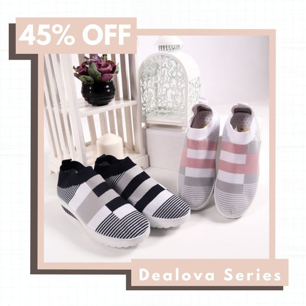 Dealova Pattern Sock Sneakers