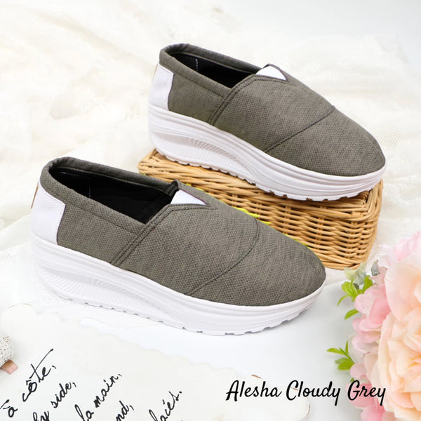 Alesha Cloudy Grey