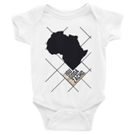 #ThePlanetAfrika by TND - White - Infant Bodysuit