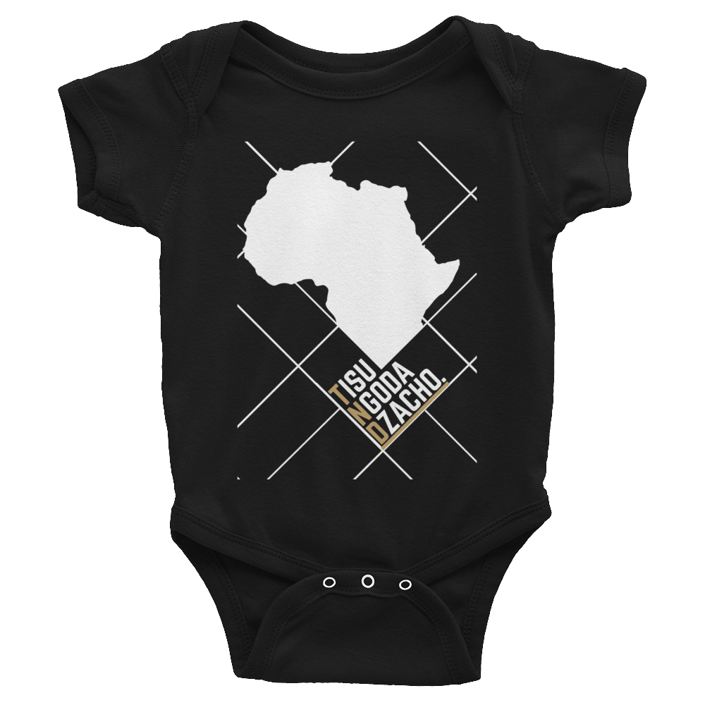 #ThePlanetAfrika by TND - Black - Infant Bodysuit