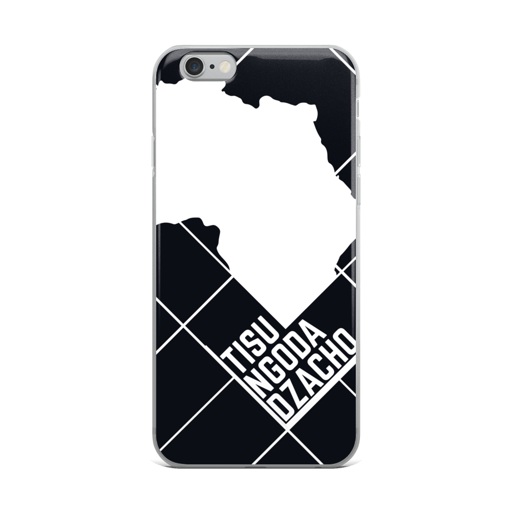 #ThePlanetAfrika by TND - Black - iPhone Case