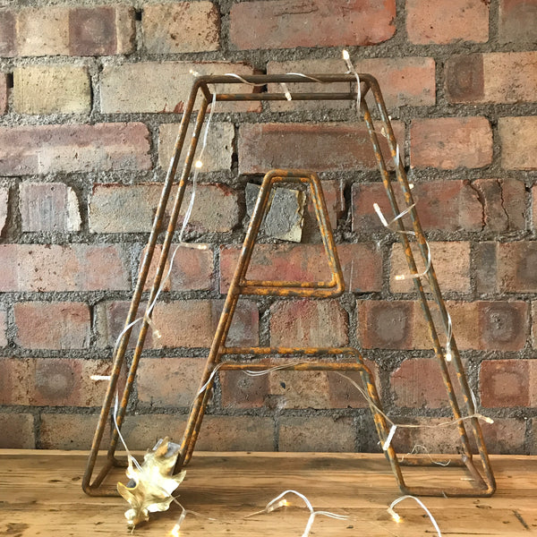 "Vintage Wire Metal Letter ""A"""