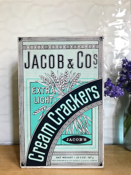 "Jacob & Co ""Extra Light Cream Crackers"" Tin"