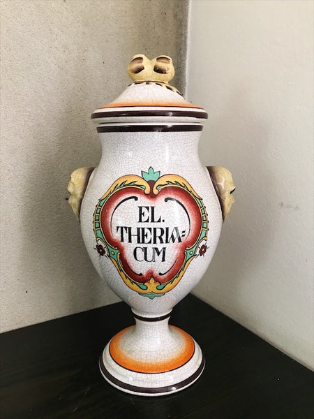 1970s Kitsch Apothecary Jar