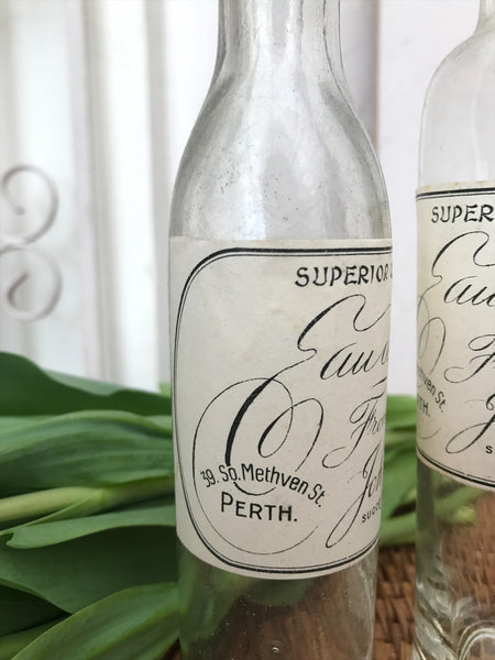 Vintage Reclaimed Apothecary Bottles