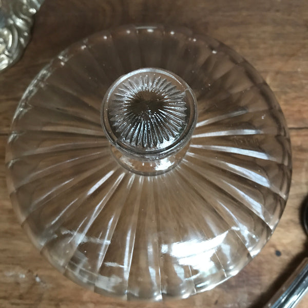 French Vintage Glass Dome/Cloche