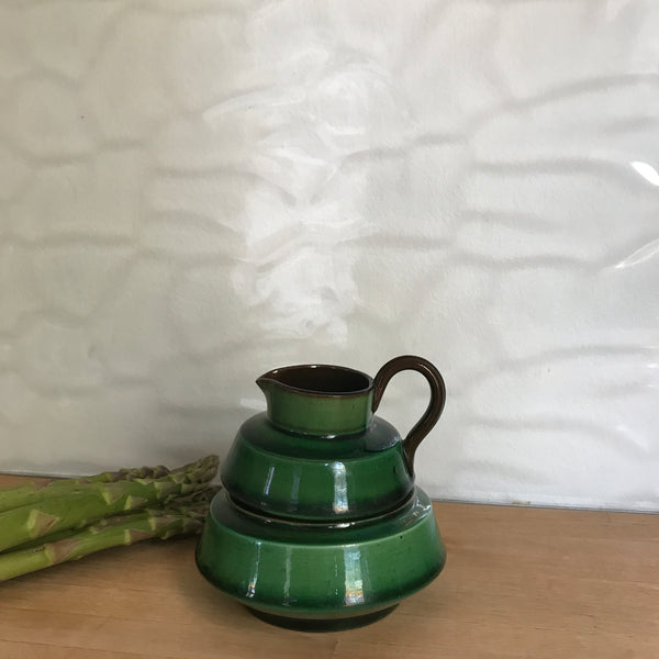 Little Green Vintage Milk Jug and Sugar Bowl