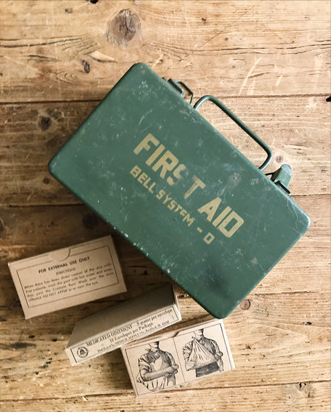 Vintage Bell System First Aid Kit