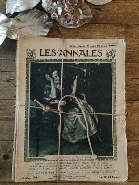 Vintage French Theatre Programme Bundle