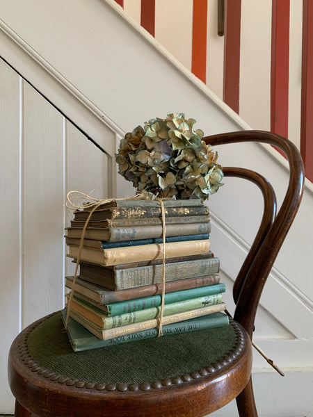 Green Vintage Book Bundle