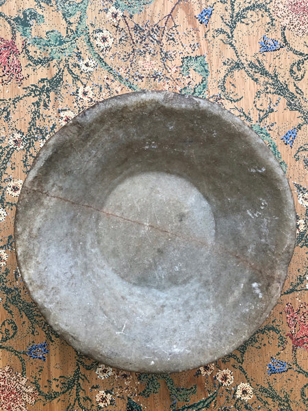 Antique Indian Marble Bowl