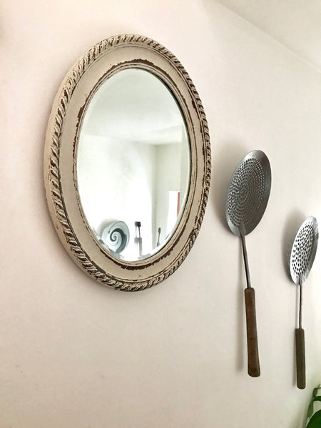 Gorgeous Rustic Vintage Mirror for a bathroom or bedroom