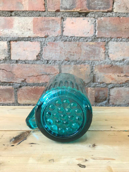 1950s Turquoise-Coloured Glass Jug