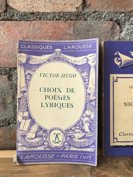 Little French Vintage Books - set of 3