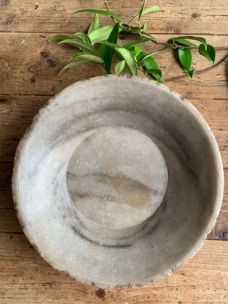 Antique Marble Stone  Bowl 3