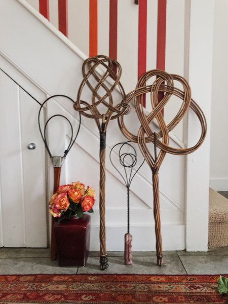 Antique Metal Rug Beater 2 - perfect for a gallery wall.