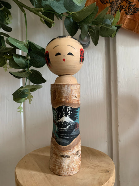 Small Vintage Japanese Kokeshi Doll