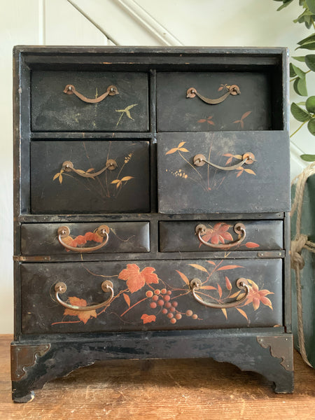 Small Antique Desktop Drawers