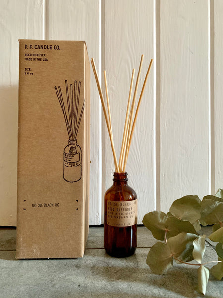 P.F. Candle Co. No. 28: Black Fig Reed Diffuser