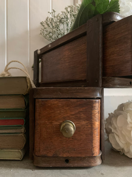 Vintage Sewing Drawers