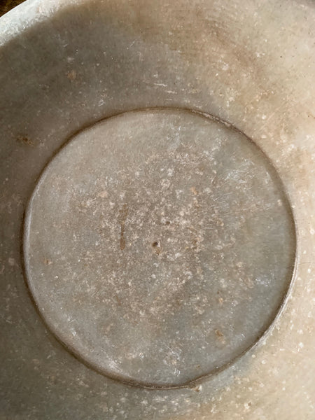 Antique Marble Stone Bowl 2