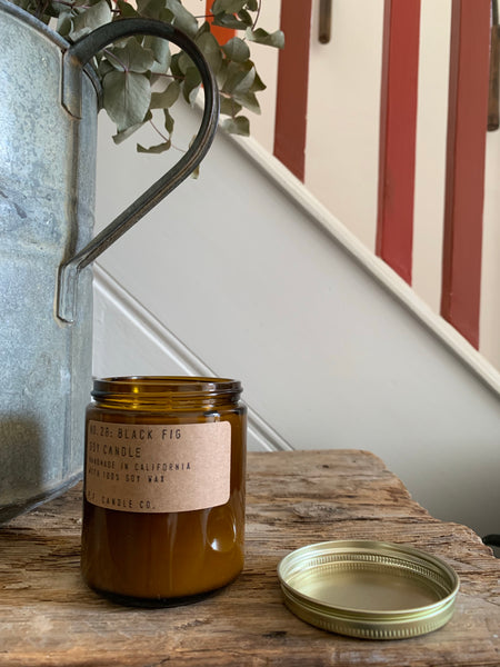 P.F. Candle Co. No. 28: Black Fig Soy Candle