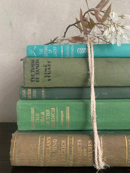 Green & Turquoise Book Bundle