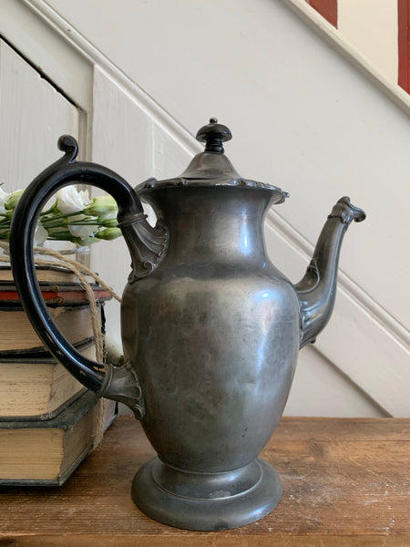 Old Pewter Coffee Pot