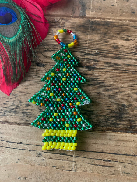 Ndebele Beaded Christmas Tree Decoration - 5