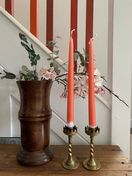 Small Brass Candlesticks