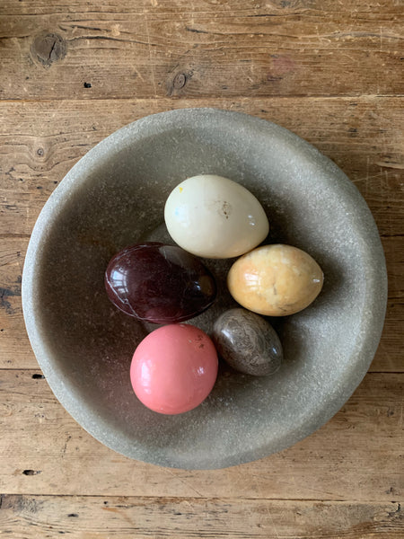 Five Marble Eggs