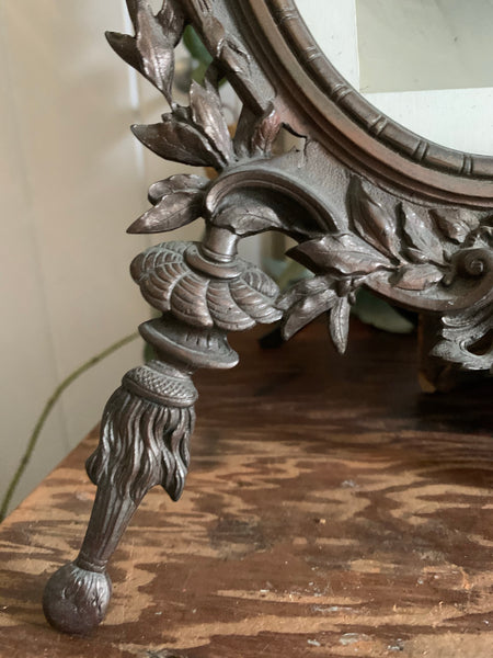 Antique Cast Iron Photo Frame 1