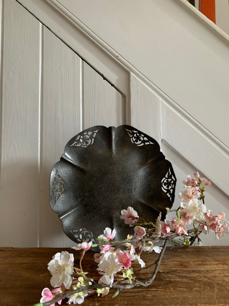 Antique Pewter Bowl