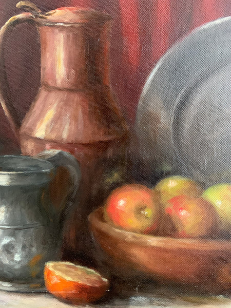 Beautiful Still-Life Oil Painting