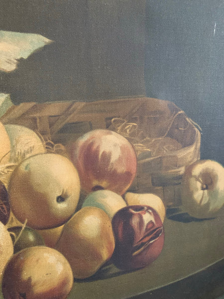 Vintage Still Life  - Oil on canvas in soft muted tones