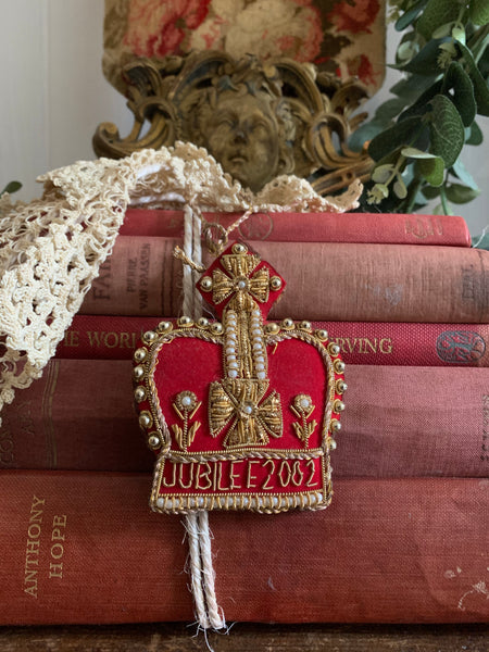 Jubilee 2002 Crown Christmas Decoration