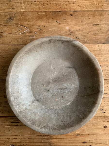 Antique Marble Stone Bowl 4