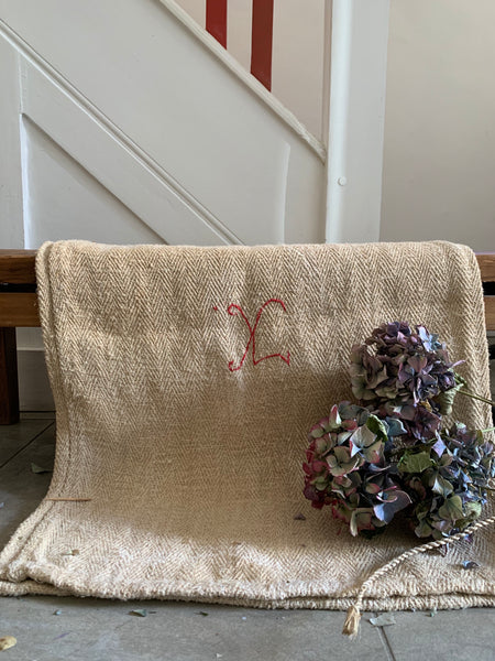Old French Grain Sack 2