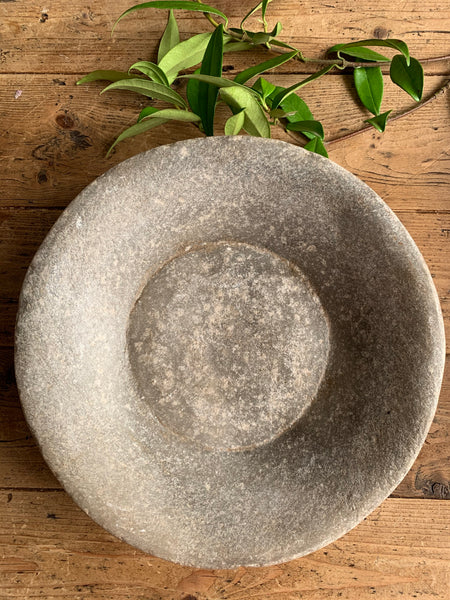 Antique Marble Stone  Bowl 5