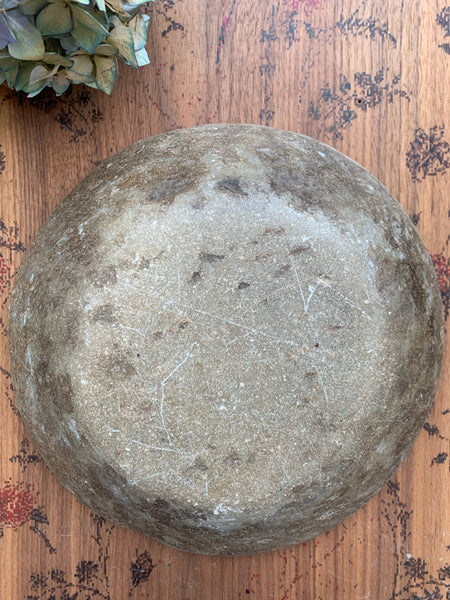 Antique Marble Stone Bowl