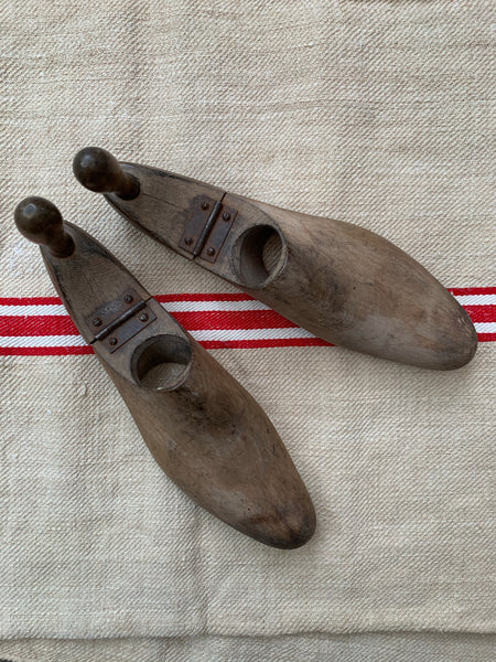 Pair of Folding Shoe Lasts