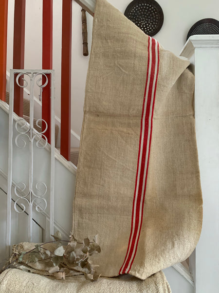 Old French Grain Sack 1