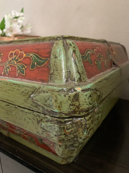 Large Handcrafted Wooden Box