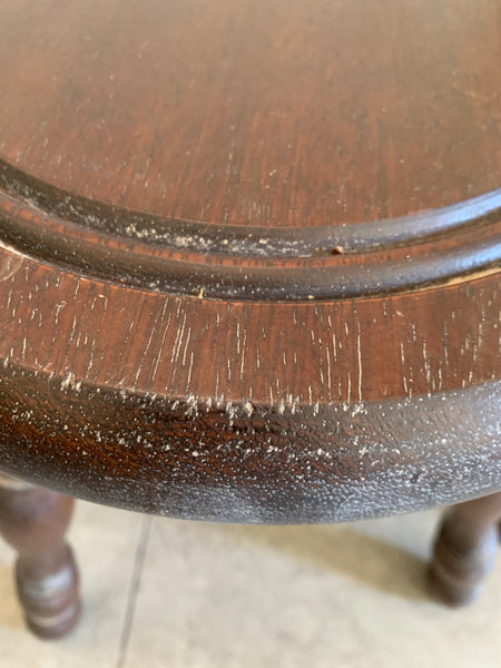 Tall French Vintage Milking Stool