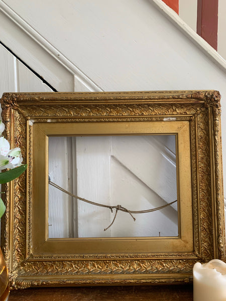 Decorative Carved Gilt Frame