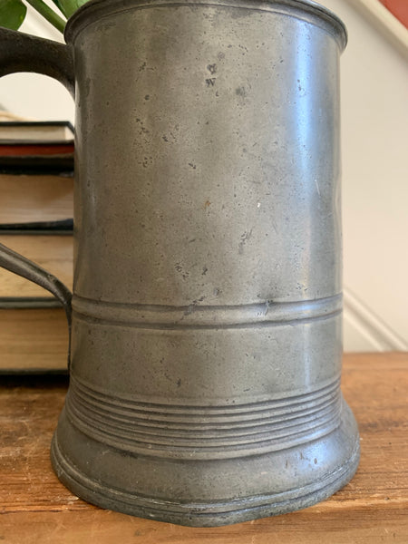 Old Pewter Tankard