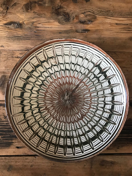 Vintage Romanian Decorative Plate