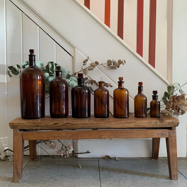 Very Large Vintage Laboratory Bottle